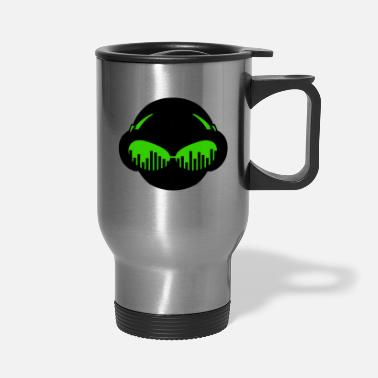 Dj &amp Music Sunglasses - Travel Mug