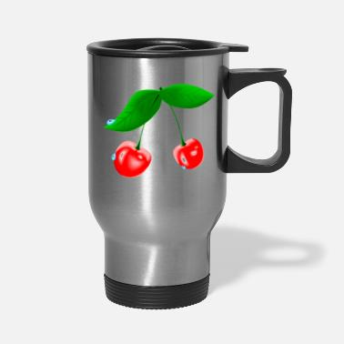 Wet Wet Cherry - Travel Mug