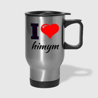 i love - Travel Mug