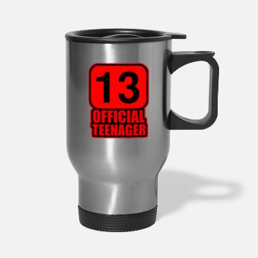 Official Person Official Teenager - Travel Mug