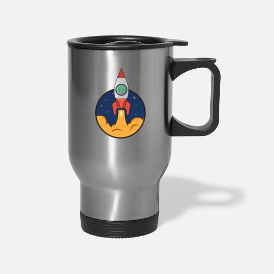 Altcoin Mugs & Drinkware - ready to start neo - Travel Mug silver