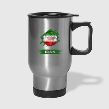 Country Flag Iran - Travel Mug