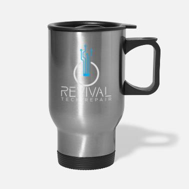 Repair Revival Tech Repair (For Dark Colored Background) - Travel Mug