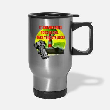 Fps Russia Radioactive Warning - Travel Mug