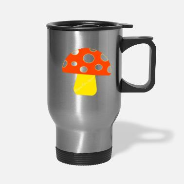 "Ramseys Retro Apparel ""Ramseys Mushroom"" - Travel Mug"