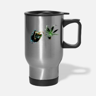 Smoking smoke - Travel Mug