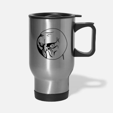 Meme NO Meme - Travel Mug