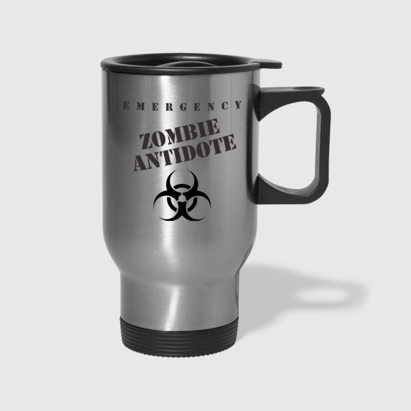 Emergency Zombie Antidote - Travel Mug