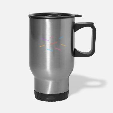 Manifestation I am Manifesting - small design - Travel Mug