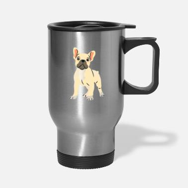Bulldog Puppy french bulldog puppy - Travel Mug