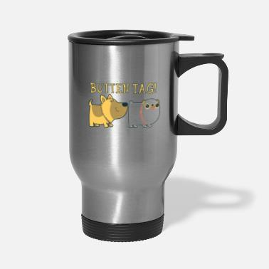 Tag Butten Tag - Travel Mug