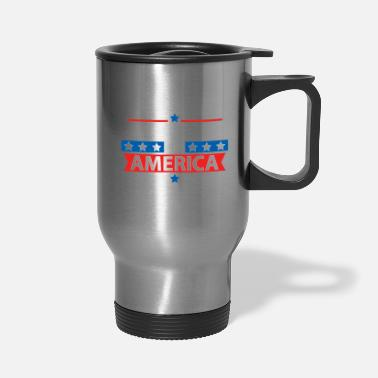 America FOR AMERICA - Travel Mug