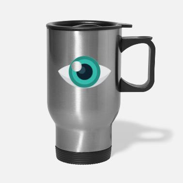 Eyeball Eyeball - Travel Mug