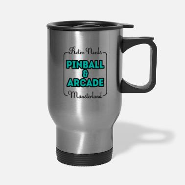 Console Retro nerds pinball arcade Münsterland gift - Travel Mug