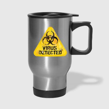 Virus Detected - Travel Mug