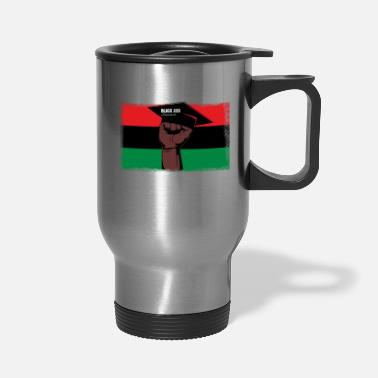 Education Culture Black And Educated - Travel Mug