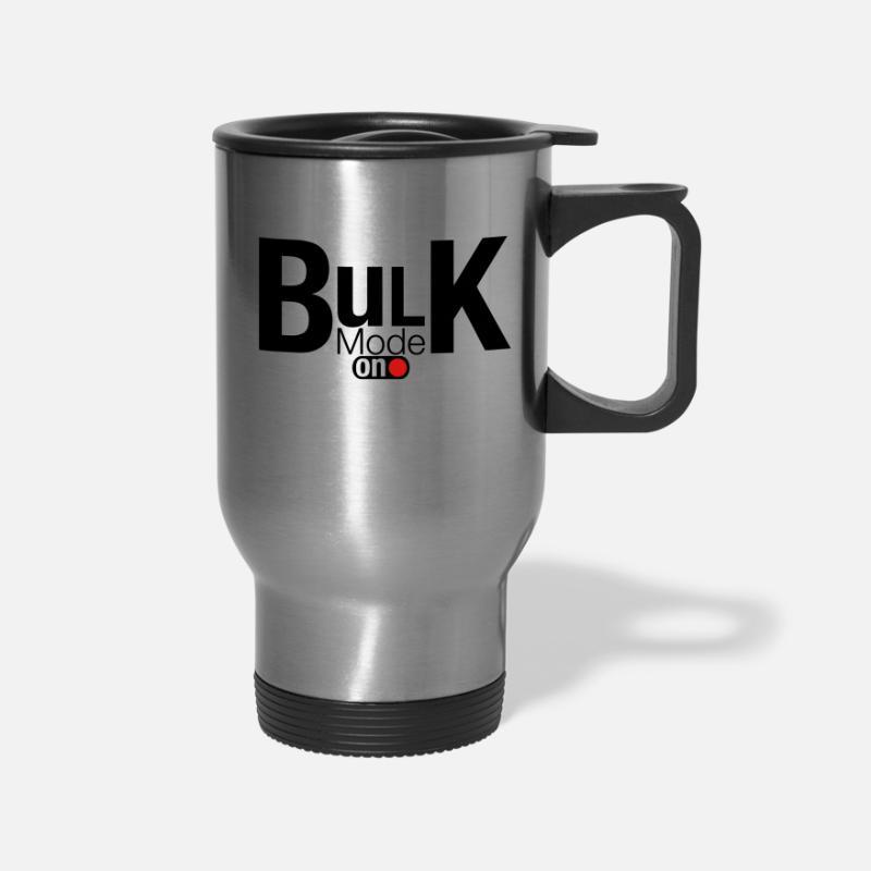 Bulk Mode On Travel Mug - silver