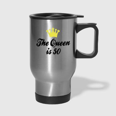 50th birthday - Travel Mug