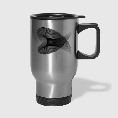 Hypnotic Tunnel - Travel Mug