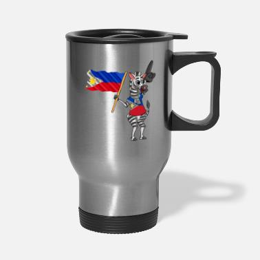 Filipino A Filipino Zebra - Travel Mug
