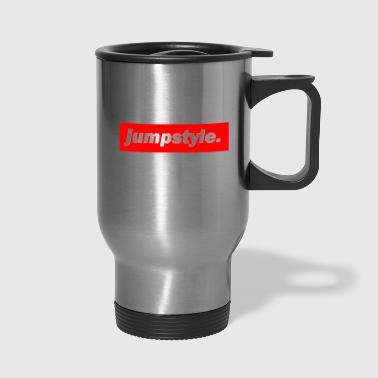 Jumpstyle techno mischpult red bass bpm jumpstyle - Travel Mug