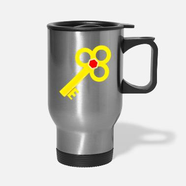 Ramseys Retro Apparel Ramseys Secret Key - Travel Mug