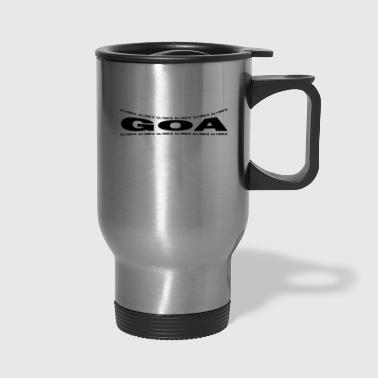 LOVE TECHNO GESCHENK goa pbm GOA extasy - Travel Mug