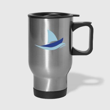 sail boat - Travel Mug