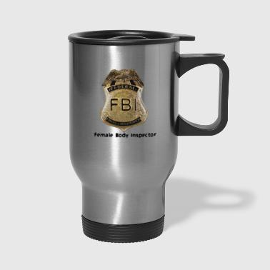 FBI Acronym - Travel Mug