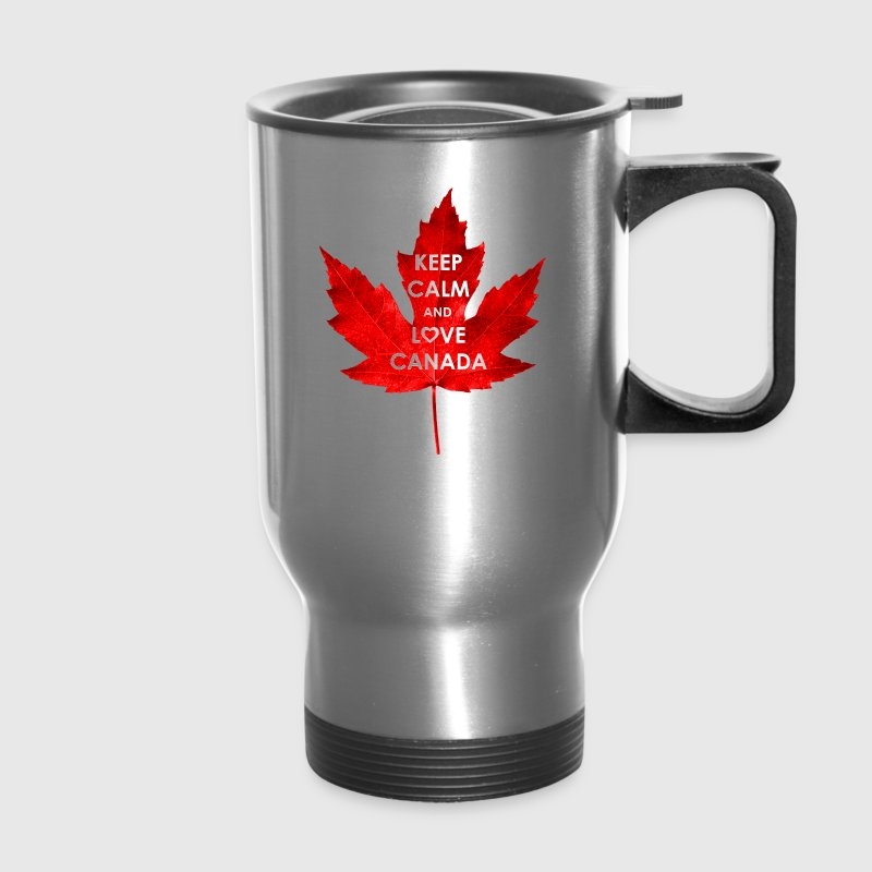 KEEP CALM AND LOVE CANADA - Travel Mug