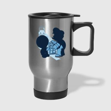Magic Mushrooms - Travel Mug