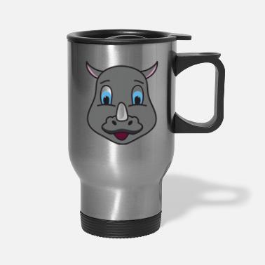 Baby Rhino Rhinoceros - Travel Mug