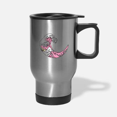 Waves Cosmic Waves - Travel Mug