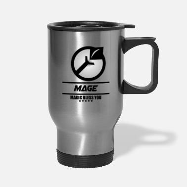 Mobile LOGO ML MAGE - Travel Mug