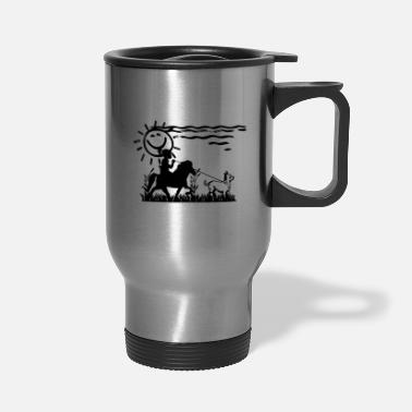 Happy Birthday Icelandic Horse: Pony Merch - Travel Mug
