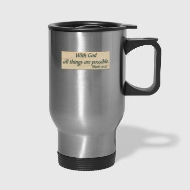 With God - Travel Mug