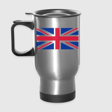 Original cross-stitch design Union Jack - Travel Mug