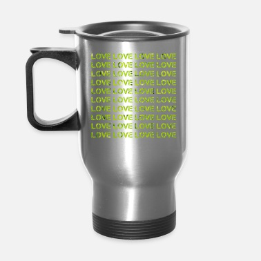 Love Love Love Love - Travel Mug