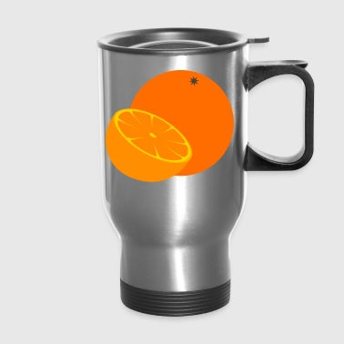 orange - Travel Mug