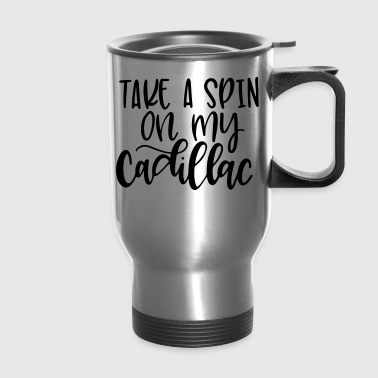 pilates cadillac - Travel Mug