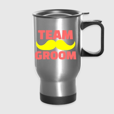 GIFT - TEAM GROOM RED - Travel Mug