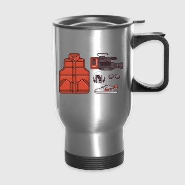 back to the future - Travel Mug