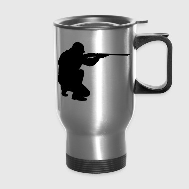 silhouette - Travel Mug
