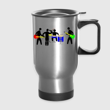 band - Travel Mug