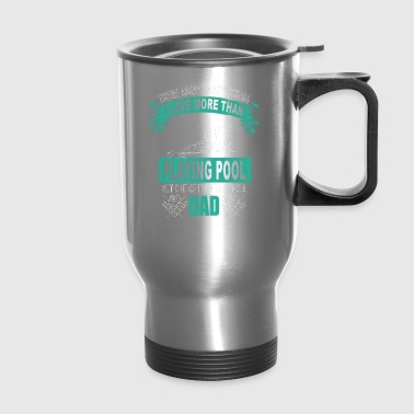 Coat Billiard T-shirts - Travel Mug