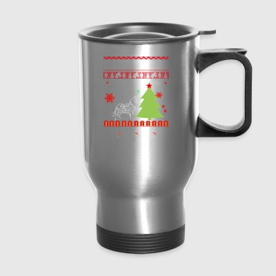 Ugly Christmas tshirt - Travel Mug
