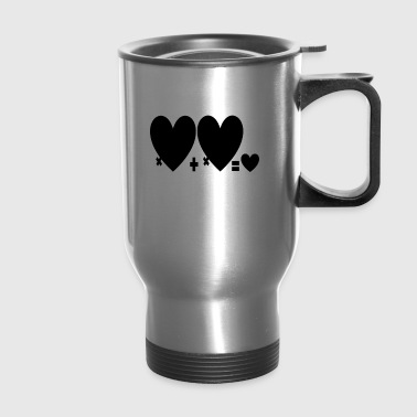 Heart - Travel Mug