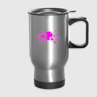 Funny Bowling Shirt For Women Mind In The Gutter - Travel Mug