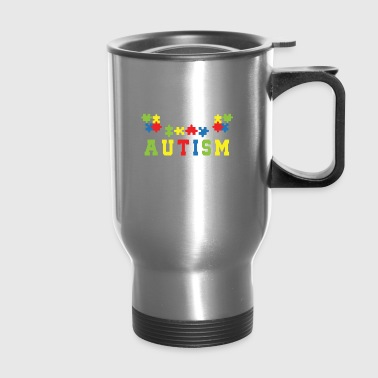 Not Misbehaving Have Autism Awareness - Travel Mug
