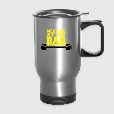 For person who love the bar - Travel Mug